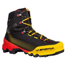 "La Sportiva; Bergschuh ""Aequilibrium ST GTX"" black/yellow"