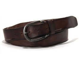 "aunts & uncles; Gürtel ""Gentle Fella"" dark brown"