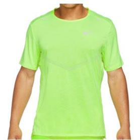 "Nike; T-Shirt ""Dri-FIT Rise 365"" reflective/grün"