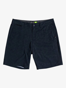 "QUIKSILVER SHORTS ""UNION HEATHER AMPHIBIAN 19"" BLACK"