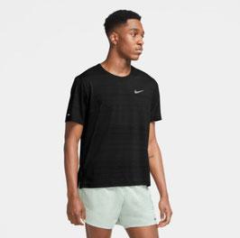 """Nike; T-Shirt """"Dri-Fit Miler"""" black"""