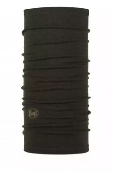"Buff; Halstuch ""Midweight Merion Wool"" forest night melange"