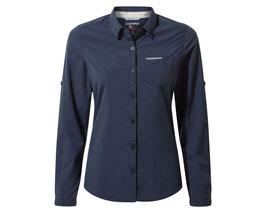 "Craghoppers; Bluse ""NL Bardo LS Shirt"" blue navy"