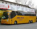 Busticket  von Prag nach Freiburg