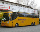Busticket  von Prag nach Frankfurt a/M  Flughafen Terminal 1
