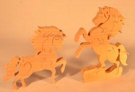 Puzzle cheval ou cheval cabré