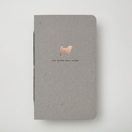 DOGS DELUX Mops - Notizheft S