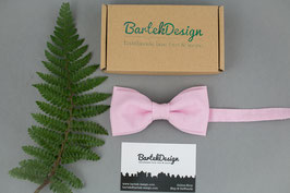 Soft Pink Bow Tie