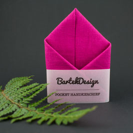 Magenta Pocket Square