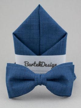 Blue Linen Set
