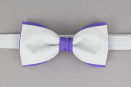 Purple Gray Bow Tie
