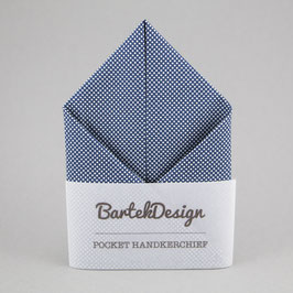 Dotted Blue Pocket Square