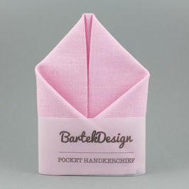 Soft Pink Pocket Square