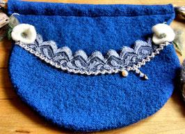 Bauchtasche blau
