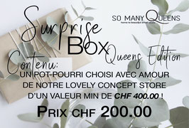 Surprise Box QUEENS EDITION - CHF 200