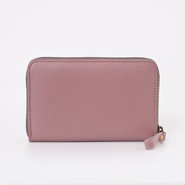 LOST&FOUND - Medium Zip Around Wallet Dusty Rose