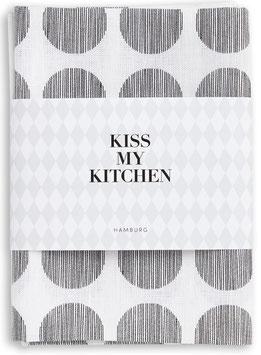 Kiss My Kitchen - Tea Towels Printed