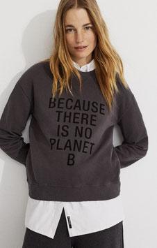 Ecoalf - Because Sweatshirt Asphalt