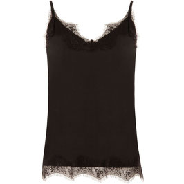 Coster CPH - Strap Top With Lace - Black