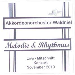 """CD """"Melodie & Rhythmus"""" (Live-Mitschnitt der Jahreskonzerte 2010)"""