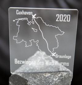 Wattwurm-Trophäe