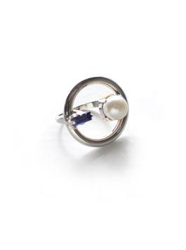NOFI RING Silver×Pearl