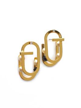 CELONA 02 EARRINGS Gold