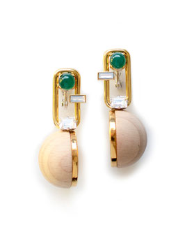 SEG EARRINGS Gold
