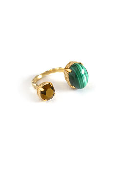 FIFS RING malachite