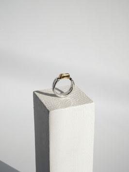 ELIA RING Silver925 Offwhite diamond