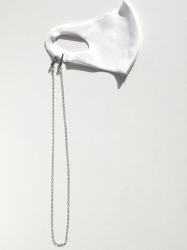 MASK CHAIN Silver925 Silver