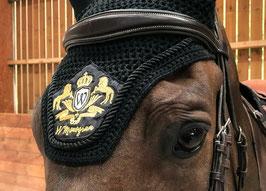 Bonnet anti-mouches noir