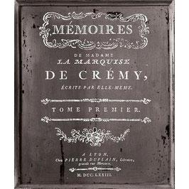 IOD Decor Transferfolie  Memoires (white/small)