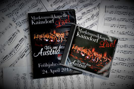 "Kombi-Package CD+DVD ""We are from Austria"""