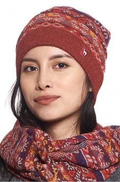Mütze GELIA Baby Alpaka Gefüttert für Damen