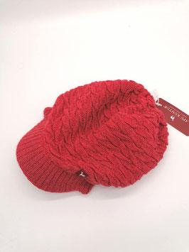 Schirm Mütze aus Alpaka Wolle