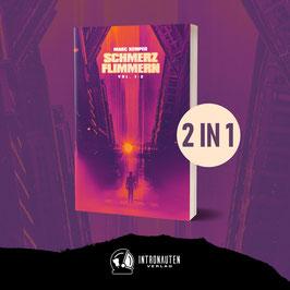 """""""Schmerzflimmern Vol. 1 & Vol. 2"""" von Marc Kemper  - Sammelband"""