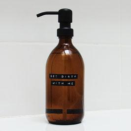 Wellmark Afwasmiddel 500 ml stalen pomp zwart