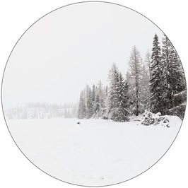 Label-R Muurcirkel snow 40cm