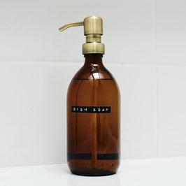 Wellmark Afwasmiddel 500 ml stalen pomp messing
