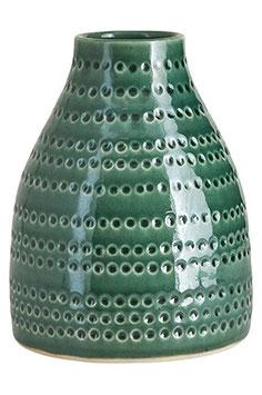Vase Circles smaragdgrün House Doctor