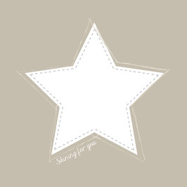 Servietten mit Stern