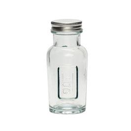 """Glasflasche mit Deckel """"90gr"""""""