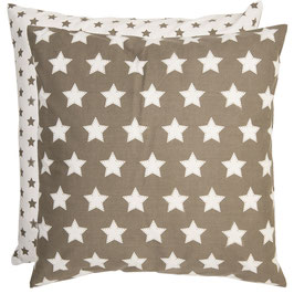 Kissenbezug Clayre & Eef mit Sternen