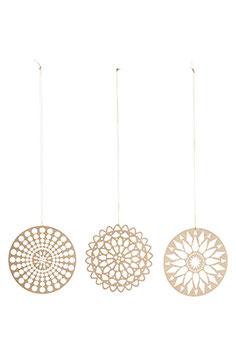 Ornament Papercuts 6er-Set