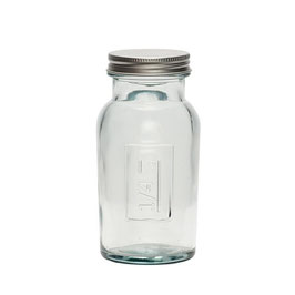 """Glasflasche mit Deckel """"1/4 Kg"""" von Hübsch Interior"""