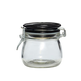 Vorratsglas mit Keramikdeckel, L