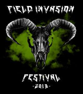 Field Invasion Festival 2019 - T-Shirt Unisex