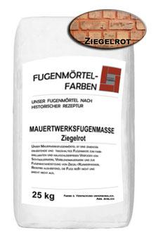 Mauerwerksfugenmörtel - ZIEGELROT