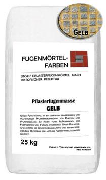 Plasterfugenmörtel GELB